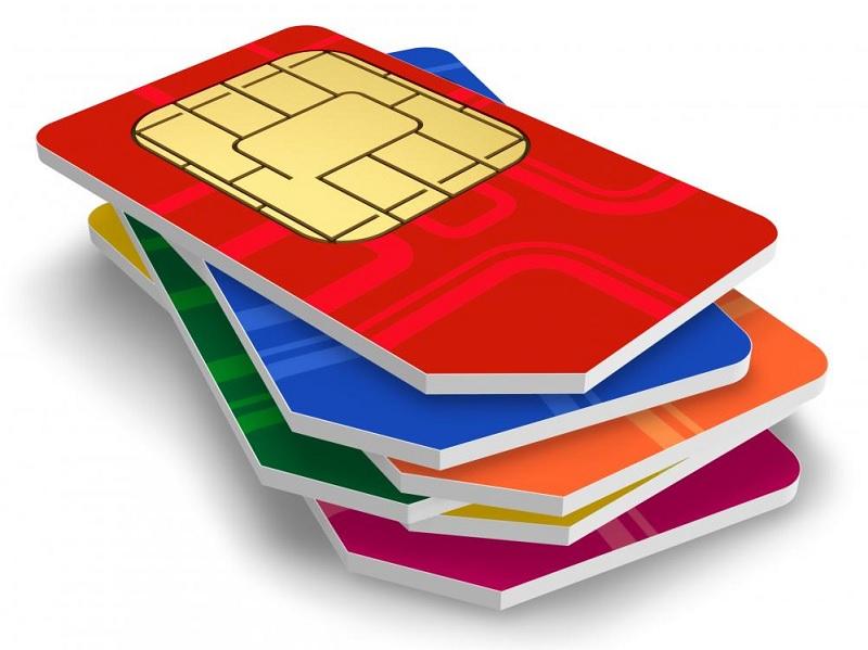 Μέσω της κάρτας SIM